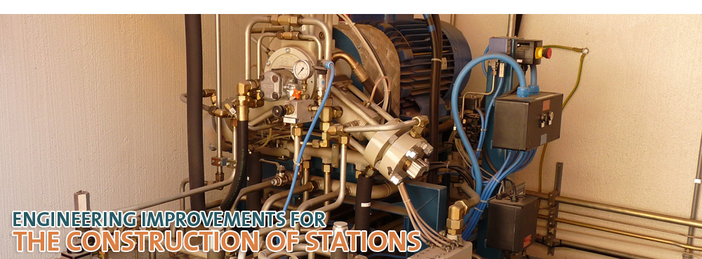 ENGINEERING IMPROVEMENTS FOR THE CONSTRUCTION OF STATIONS